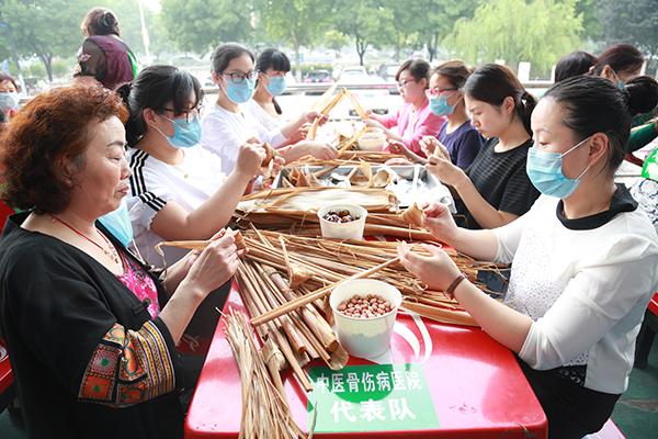 工会活动|浓情端午 粽子飘香——我院工会组织参加包粽子活动