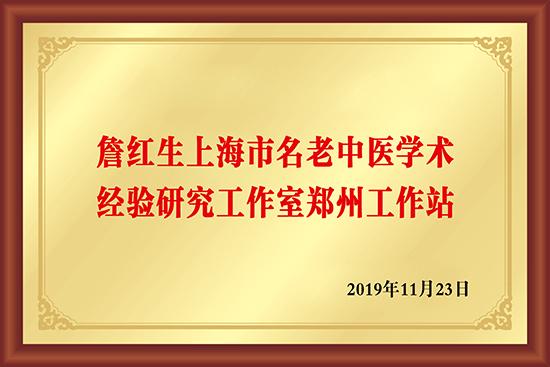 詹红生上海市名老中医学术经验研究工作室郑州工作站